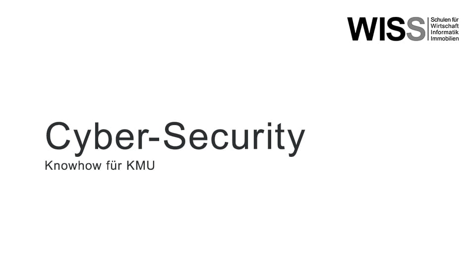 WISS Event Cyber Security