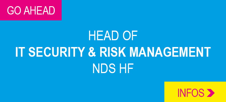 Head of IT Security & Risk Management NDS HF